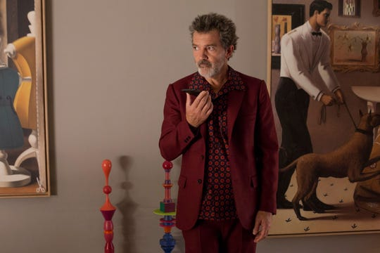 "Antonio Banderas as Salvador in a scene from Pedro Almodóvar's ""Pain and Glory."""