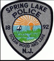 Spring Lake Police Department shield.