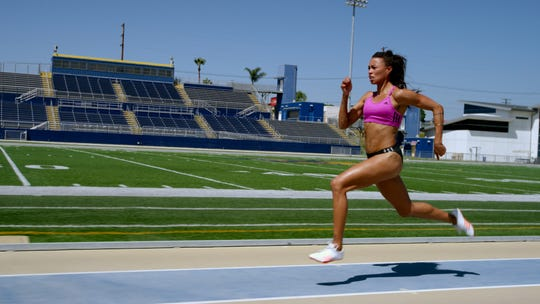 "Australian runner Morgan Mitchell, one of the vegan athletes featured in the documentary ""The Game Changers."" The film arrives in theaters nationwide for one day only on Sept. 16 and in New York on Sept. 20 and Los Angeles on Sept. 27."