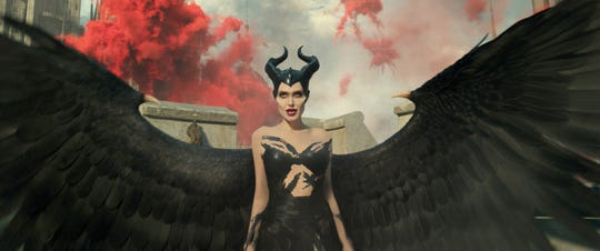 "Angelina Jolie is Maleficent in Disney's ""Maleficent: Mistress of Evil."""