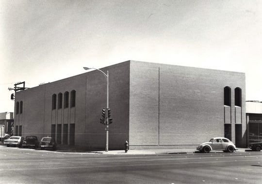 Condley and Company's offices at the southeast corner of Pine and North Third streets was honored with a 1977 Frank Grimes Beautification Award. It was designed by the Abilene firm of Title, Luther, Loving.