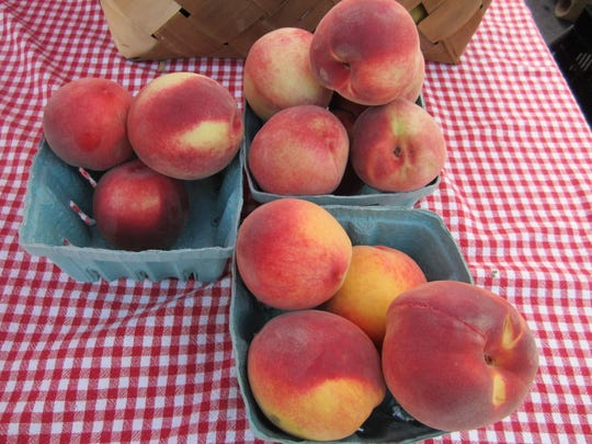 Peaches from Creasman Farms