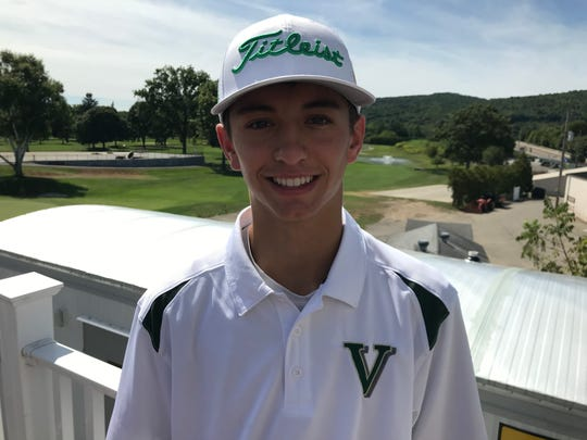 Vestal's Dan Harding, co-medalist in Nick DiNunzio Memorial.