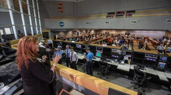 Overseeing the Artemis program, Charlie Blackwell-Thompson is NASA's first female launch director at Kennedy Space Center. She oversees about 100 personnel