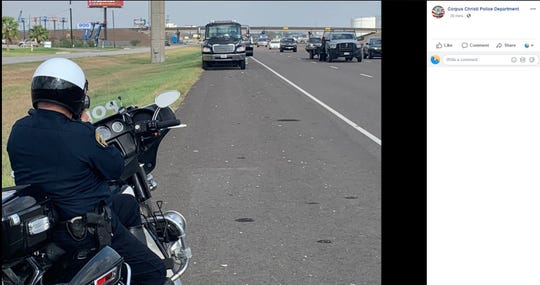 Corpus Christi police officers conducted a three-hour operation targeting drivers who didn't move over for two truck vehicles.