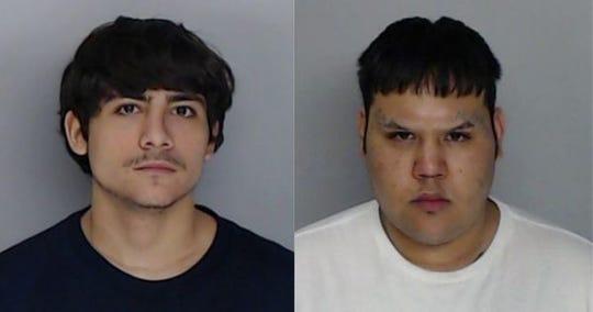 Aaron Reyes, 17, and Matthew Reyna, 20.