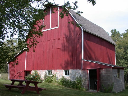 Hotvedt barn, 1996 County Road A14, Decorah (Winneshiek County): John McMullens bought the farm from the government in 1852 for $1.25 an acre.