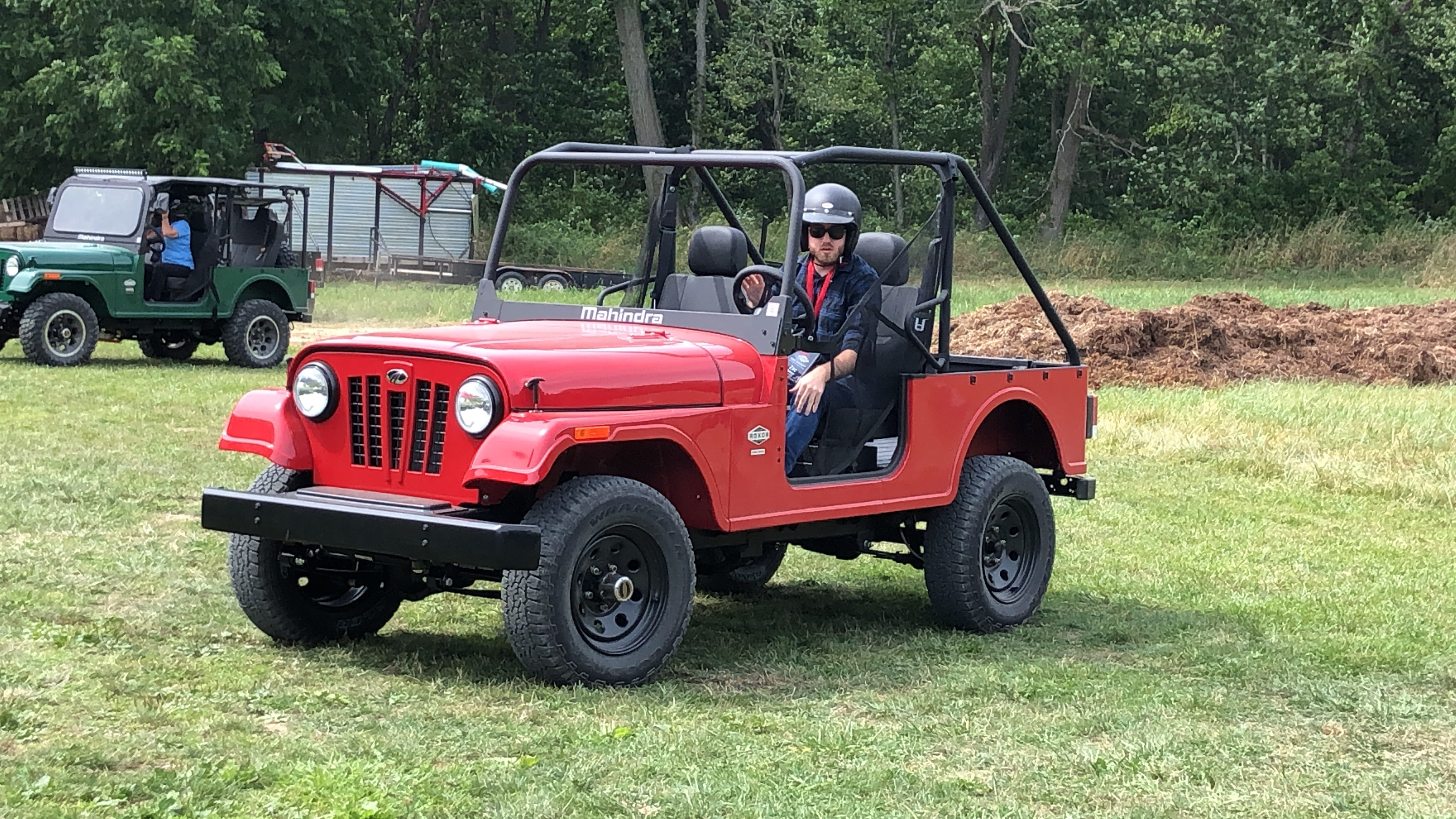 Does this ATV look too much like a Jeep? A federal judge thinks so, and wants to ban it