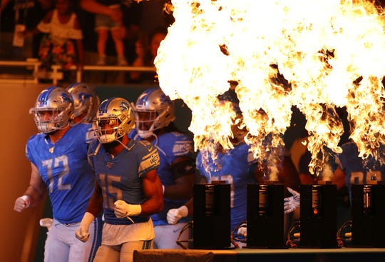 The Lions open Year 2 under head coach Matt Patricia on Sunday in Arizona.