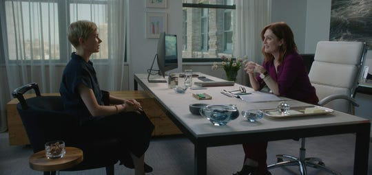 "Michelle Williams, left, and Julianne Moore in ""After the Wedding."""