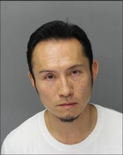 Futa Sakamoto, age 44, is facing felony charges for allegedly recording people in a changing room at an Aqua Tots.