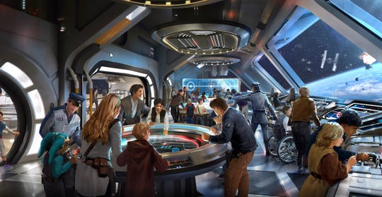 Guests will be able to visit the starcruiser's Bridge to learn about ship systems and how to operate them, including navigation and defense – skills that may come in handy during a journey through this adventure-filled galaxy.
