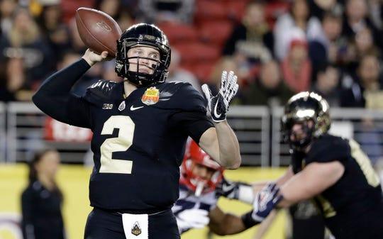 Elijah Sindelar will start at quarterback for Purdue, taking over for David Blough.