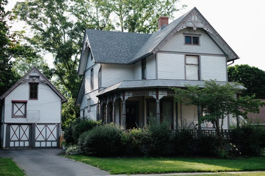 This 1880 Queen Anne style home will be featured on this year's Marshall Historic Home Tour.