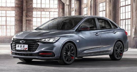The Chevrolet Monza, a new addition to the brand's lineup in China, was launched on March 21. The sporty compact sedan is available in five variants, including two Redline models and two RS models.