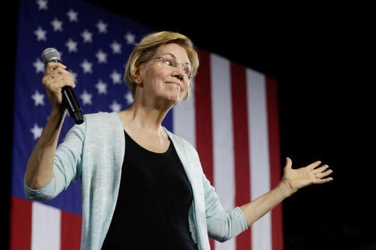 Elizabeth Warren was among the Democratic presidential candidates who called for Brett Kavanaugh's impeachment last week.