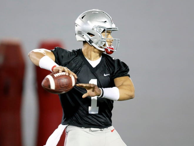 Justin Fields will take over as Ohio State's quarterback after transferring from Georgia.