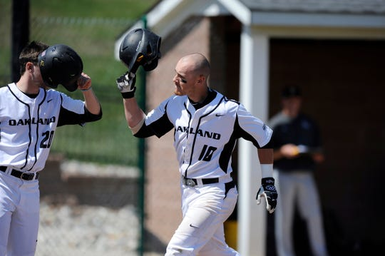 A shortstop at Oakland University, Mike Brosseau was a two-time All-Horizon League player, leading the conference in on-base percentage (.456) and rankingsecond in home runs with 10 as a senior, while hitting .354.
