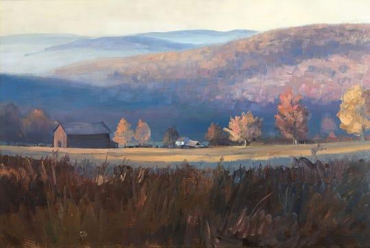 """""""Upstate Fall"""" by Tom Gardner."""