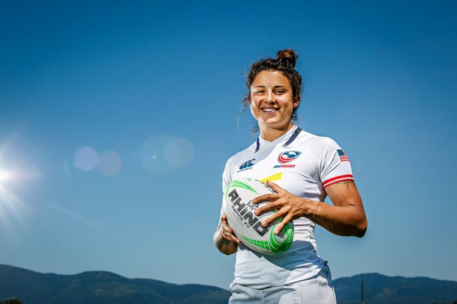 Nicole Heavirland, co-captain of the the U.S. National Rugby 7s team, is aiming for a gold medal in 2020. The Eagles have a No. 2 world ranking and an automatic berth in the 2020 Olympics in Tokyo.