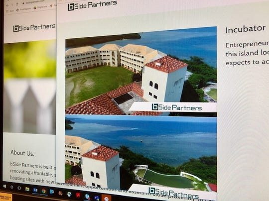 A screen shot of Georgia-based BSide Partners' website teaser about the company's plans for the former Accion Hotel in Yona, but bSide Partners pulled out, attorneys for the Archdiocese of Agana said.