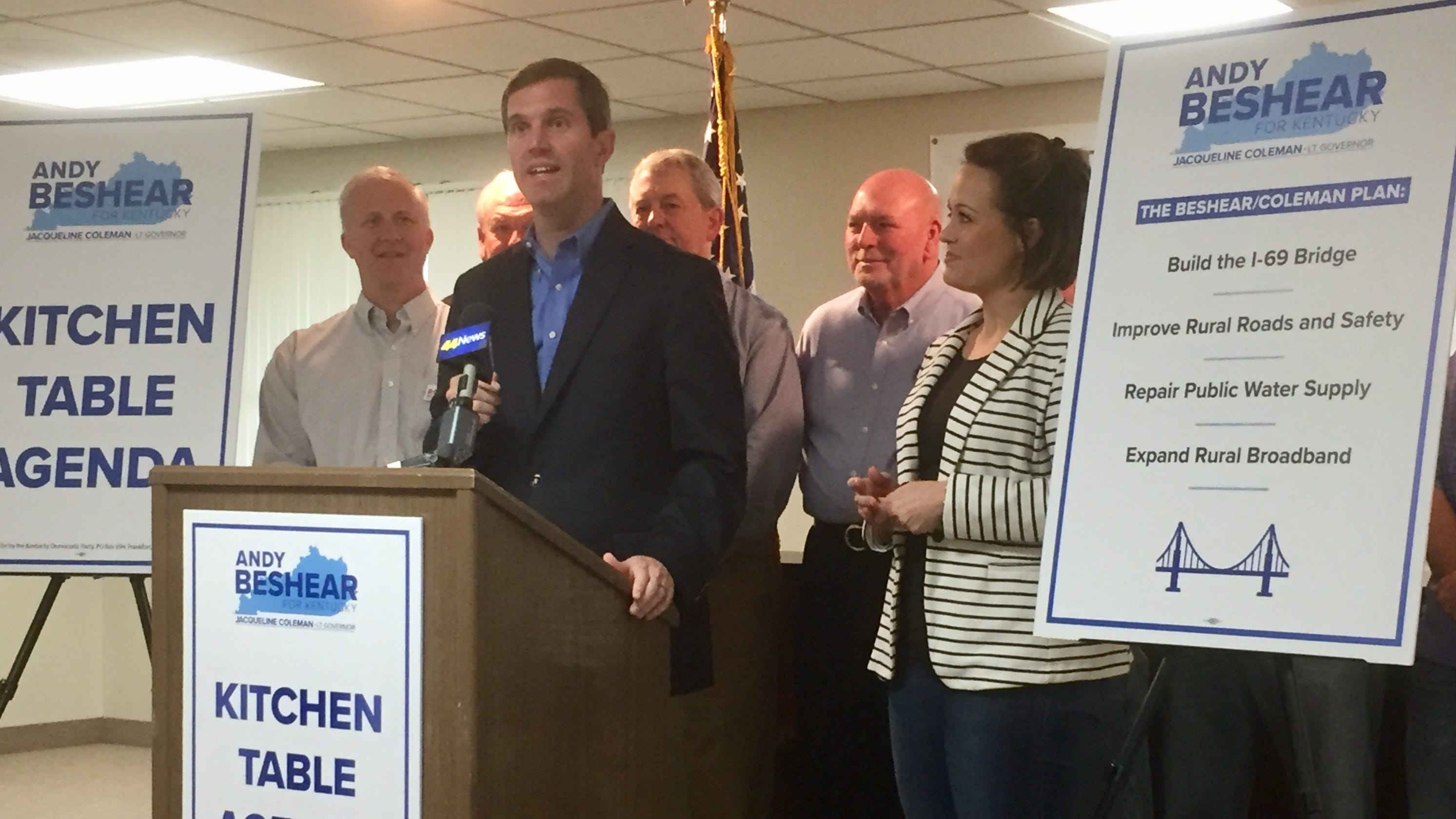 Andy Beshear Says 'we Will Build I-69 Bridge In My First Term