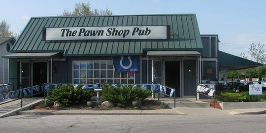 Inside The Pawn Shop Pub Saturday night, patrons were disappointed to hear the news of Luck's  retirement.