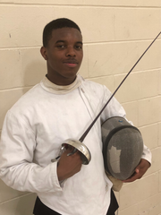 Nicholas Nelson, 16, enjoyed fencing most weeks.