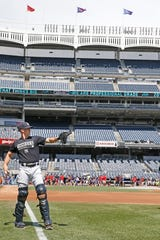 Radley Haddad, a former Brebeuf baseball player, is now a bullpen catcher and assistant coach for the New York Yankees.