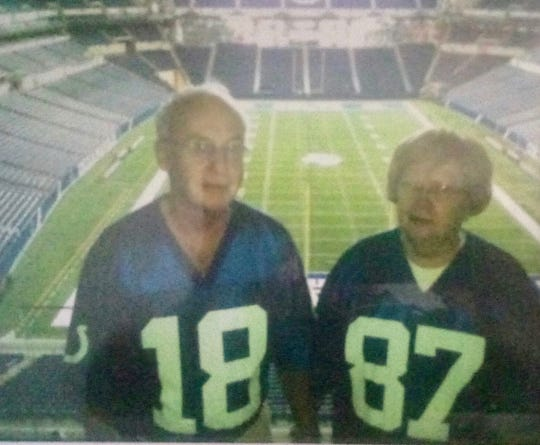 The late Raymond (left) and Margaret Wilmore were married more than 50 years.