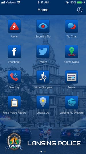 Lansing Police Department released a new application where community members can submit tips and receive crime alerts.