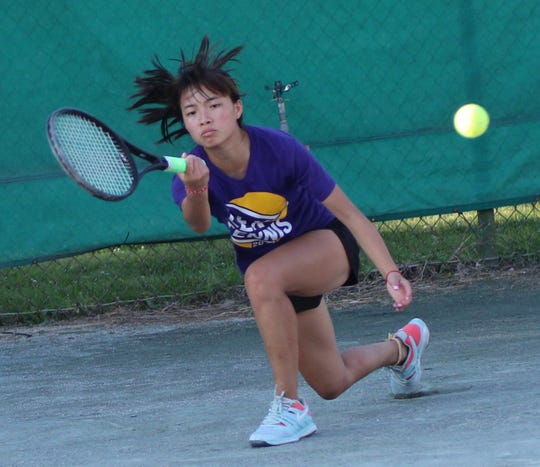 Lexington's Gracie Pfieffer is the best girls tennis player in north central Ohio and coming off a freshman season where she earned second-team All-Ohio honors in doubles.