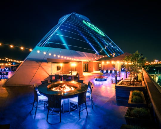 Mississippi Terrace at the Pyramid to open in fall 2019.