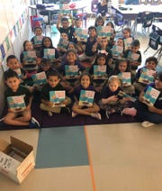 Borgwardt's homeroom class received the first of nine books for the school year on August 17, just three days after the first day of school.