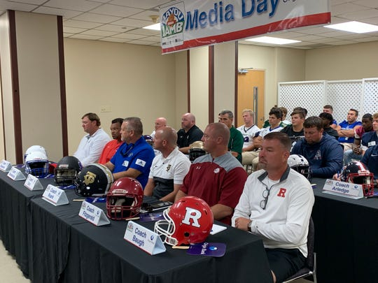 Head coaches from North and Central Louisiana gathered at the annual Bayou Jamb press conference on Tuesday morning at St. Francis Medical Center.