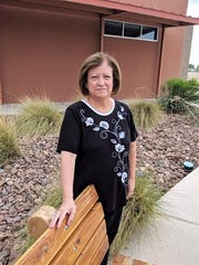 Gloria Martinez, construction projects director of the Las Cruces Public Schools, is running for the school board. She promises to retire as an employee if she is elected.