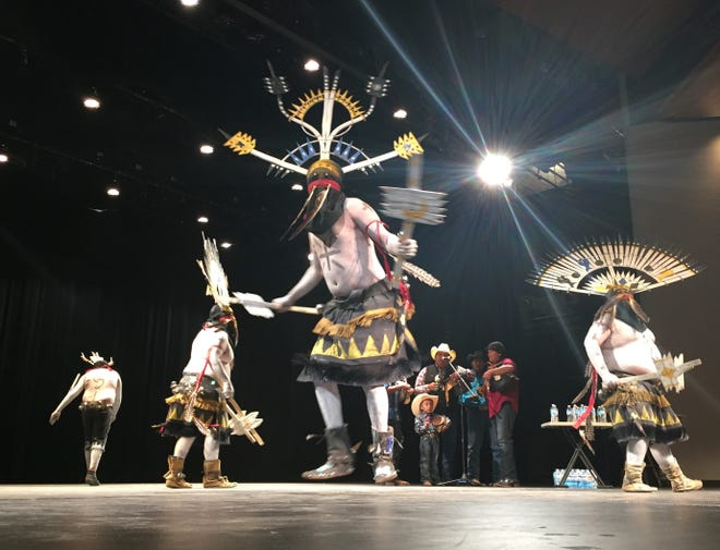 The White Mountain Apache Crown Dancers will be featured during the Cultural Expo on Sept. 1 at the Total Festival at the Farmington Civic Center.