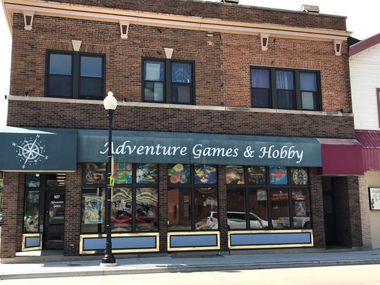 Adventure Games & Hobby to 408 N. Main at the end of September and expanding its products.