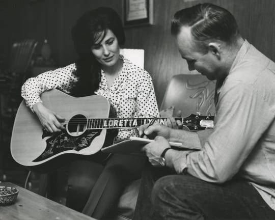 "Loretta Lynn and her husband Oliver ""Doolittle"" Lynn in 1965. WSRE will host a preview screening of PBS' new documentary ""Country Music"" on Sept. 5, which explores the genre's history, the lives of country music legends and the unique relationship the music has with fans."