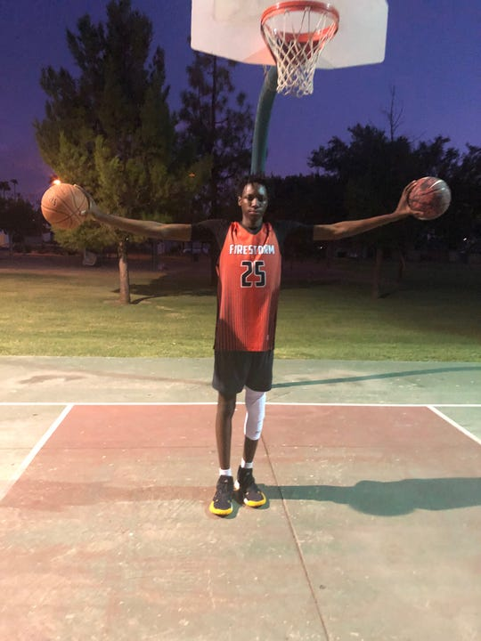 J.D. Tsasa, a 16-year old high school graduated, will forego college in order to prepare for a future NBA draft.