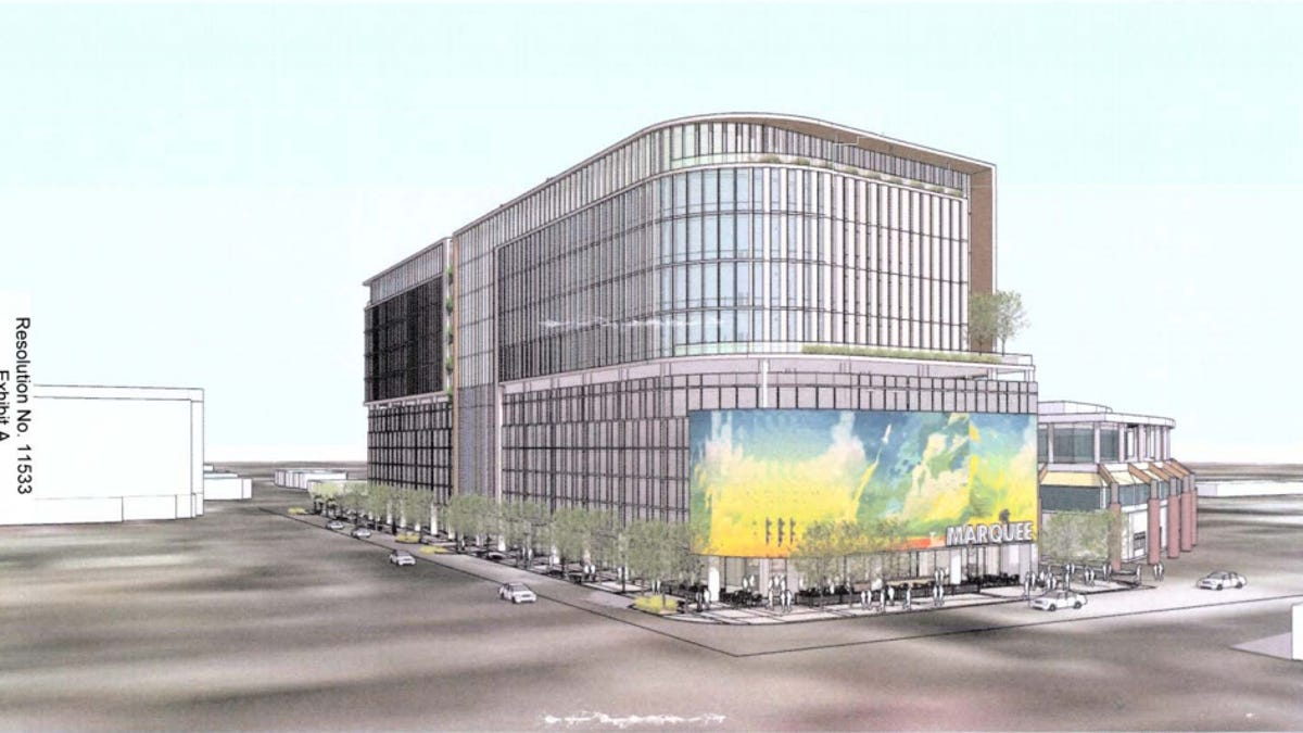 Scottsdale Approves New 150 Foot Office Building Marquee In Old Town