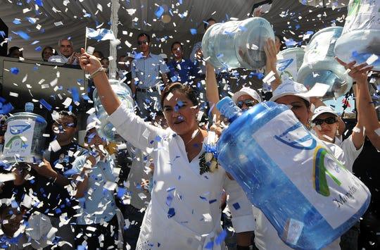 Rosa Elena Bonilla es esposa del ex presidente de Honduras Porfirio Lobo.