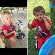 Pennsylvania State Police Gettysburg is trying to locate 2-year-old Lilyen June Vanmetre and 4-year-old Jayden Vanmetre. They were last seen in Adams County.