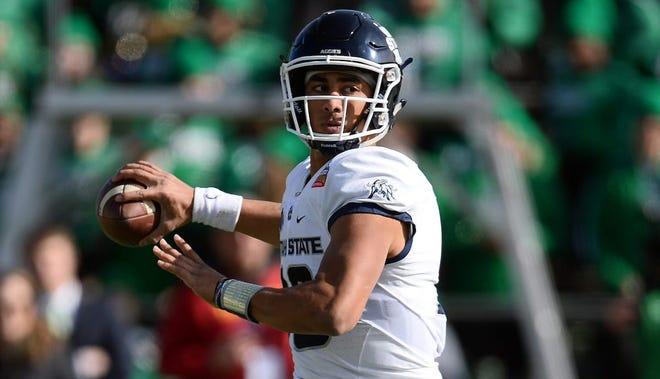 Utah State quarterback Jordan Love threw for more than 3,500 yards last season.