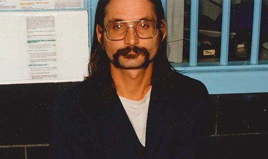 This undated photo provided by the Northern California Innocence Project shows Bob Fenenbock. The Northern California man was convicted in the stabbing death a man suspected of sexually molesting a child has been exonerated after 28 years in prison thanks to newly discovered evidence, including the confession of the true killer. The Northern California Innocence Project says Fenenbock was exonerated Friday, Aug. 23, 2019. (The Northern California Innocence Project via aP)