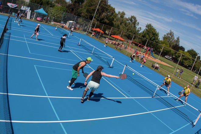 Salem-Keizer Pickleball hostedits secondannual tournament Aug. 24-25, with a portion of the proceeds benefiting the Combat Veterans Association of Salem.