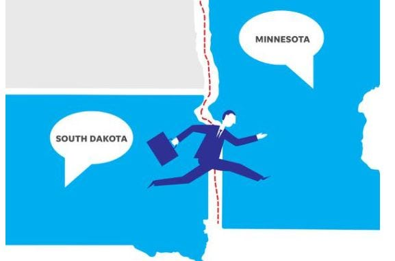 South Dakota workers are leaving the state for better-paying jobs.