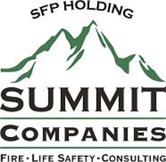 A logo for Summit Companies, also known as SFP Holding