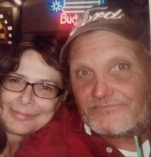 Dave Kieffer, 57, and his partner Stacy Nebel (left). Kieffer and his friend Fred San Miguel were both killed in a crash near Sioux Falls on Aug. 24, 2019.