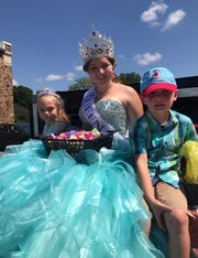 Unlike some pageants, the one at the Billings Community Fair is not about beauty. Instead, each high school class selects one girl to represent them in the pageant. Once selected, the four girls are each tasked with creating three fundraising events throughout the pageant season.